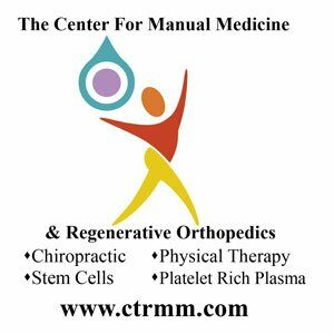 The Center for Manual Medicine & Regenerative Orthopedics - Sponsor logo